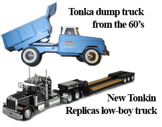 Tonka Truck and Diecast Truck